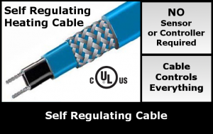 Self Regulating Cable - Pipe Tracing