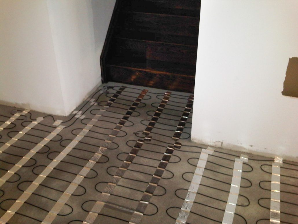 Radiant floor heating systems toronto heavenly heat inc Radiant floors
