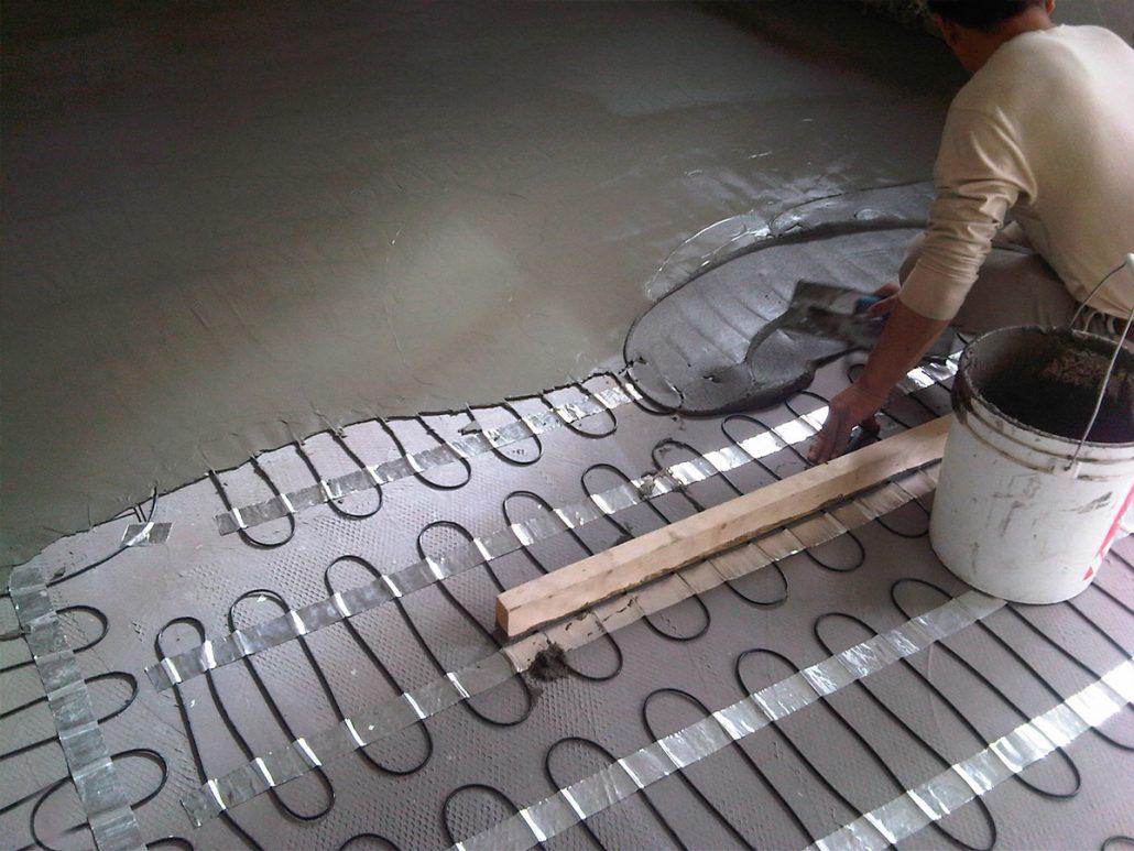 Floor Heating Systems Heavenly Heat Inc