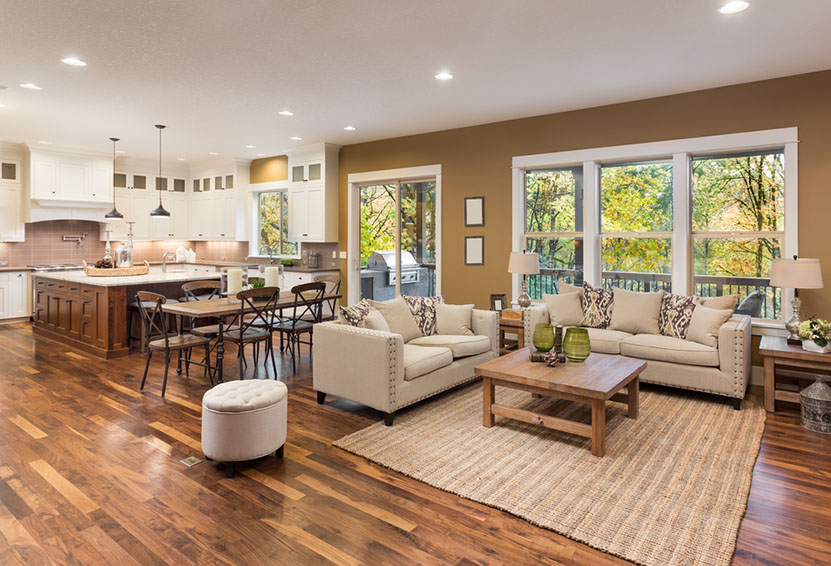 Best Flooring For A Family Room Renovation Heating Systems