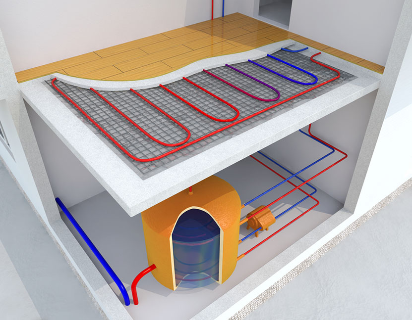 Problems Associated With In Floor Radiant Heating Systems
