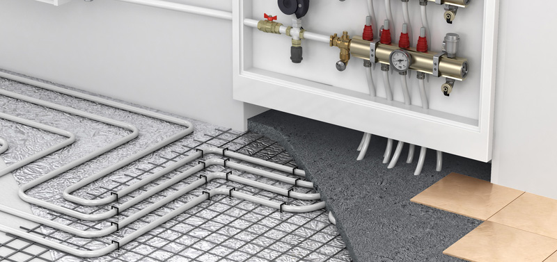 Myths about radiant floor heating floor heating systems inc for Small heating systems
