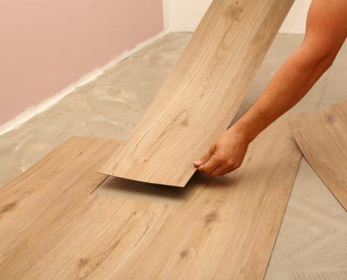 Vinyl Floor Heating System